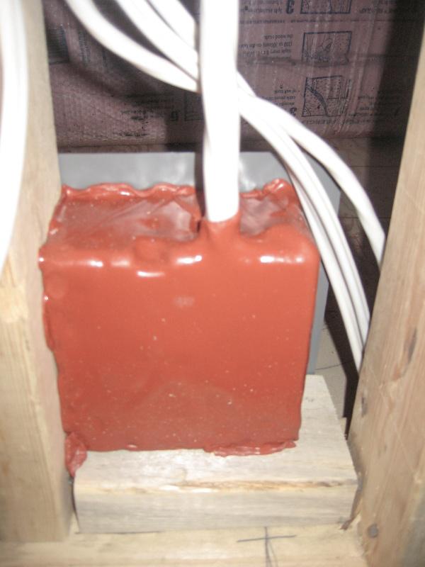 Element Spray Foam - Firestop Electrical Boxes