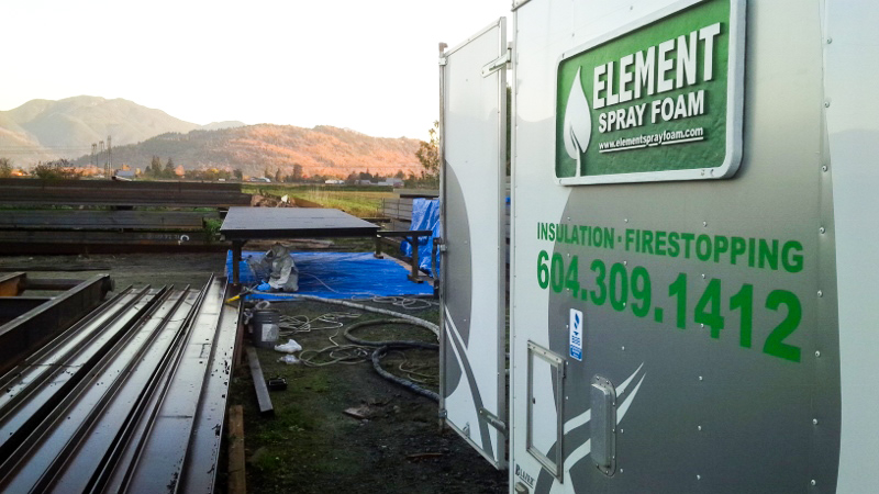 Element Spray Foam - Oil and Gas Chilliwack