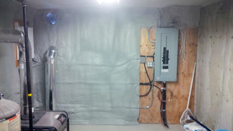 Element Spray Foam - Pool Room Chilliwack