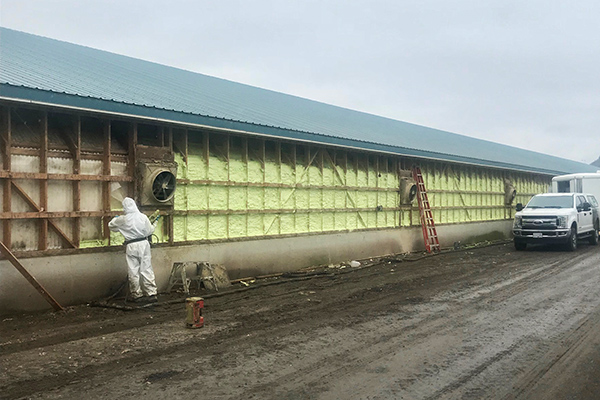 Element Spray Foam - Agricultural Applications