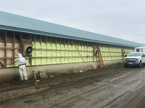 Agricultural Spray Foam